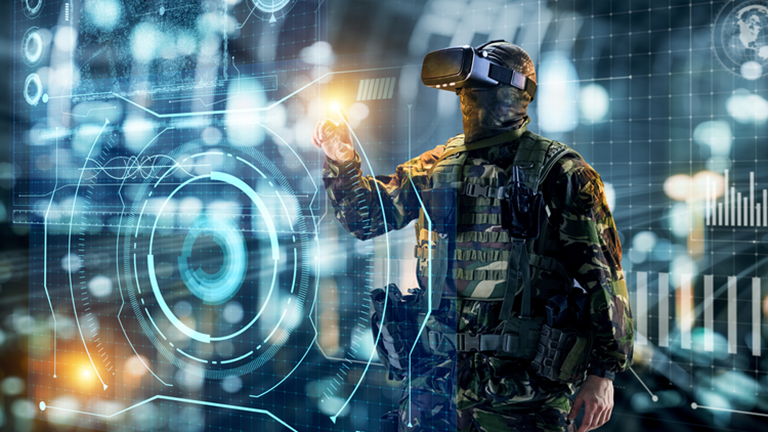 Manufacturing Institute Uses Virtual Reality to Train Military Members for New Industrial Careers